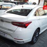 آریزو 6 مدل 1399 سفید نمای عقب